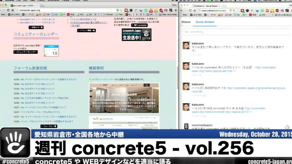 週刊 concrete5 Vol.256