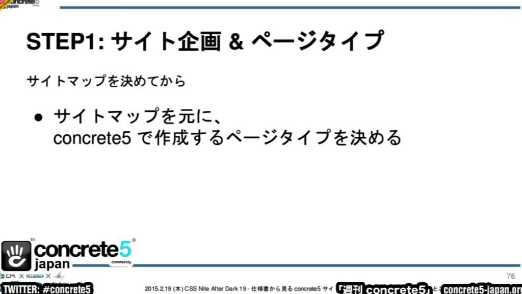 DJ Kazu の初心者講座 – 週刊 concrete5 Vol.267